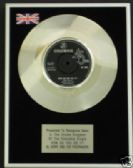 "GERRY&THE PACEMAKERS 7"" Platinum Disc HOW DO YOU DO IT"